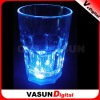 LED flashing colorful glass coffee, tea,cup