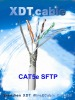 0.57mm Copper, 23 AWG,SFTP cat6 lan cable