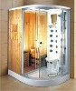 (806) newest complete corner steam sauna room