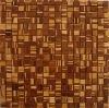zebra brown bamboo wall tile
