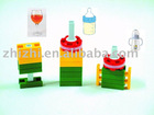 LASY Plastic Preschool Creative magnetic construction building toys