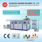 plastic disposable cups making machinery for extremely tall milky tea cup max depth 210mm S7130D