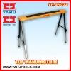 Heavy duty adjustable steel sawhorse 330lbs capacity new