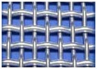 crimped decorative woven wire grilles