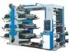 6 color high speed plastic bag printing machine