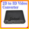 High Definision Video Converter from 2D to 3D with high quality