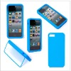 for iphone5 TPU Case with front cover