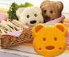 Bear pocket sandwich bread mold