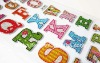 Puffy Letter Sticker For Scrapbooking