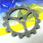 Zakka ~ Wheel Gear Antique Bronze Charms for DIY Jewellery Accessories