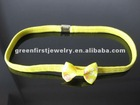 Elastic headband with custom logo or design in low MOQ and price