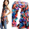 100% excellent Chiffon velvet wholesale fashion lady/women scarf with good quality 170x70cm SC01