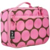 (GW-LUNCH-033)Pink Polka Dot Lunch Bag