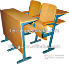 hot sale student desk and chair/folding desk and chair/school desk and chair