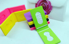 fashion silicone name card holder