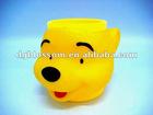 plastic promotion kids cartoon mug