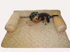 polar fleece pet sofa/bed