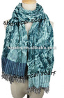 Fashion warm jacquard viscose pashmina shawl