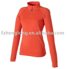 Ladies Autunm and summer midlayer sportswear