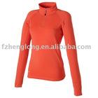 Ladies Autunm and summer midlayer sportswear