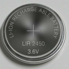 LIR2450 3.6V Rechargeable Lithium Button Batteries