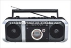 Hot selling 3 bands radio cassette recorder