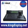 CCTV camera 3D keyboard for speed camera