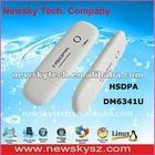 Portable 7.2Mbps 3g qualcomm hsdpa usb voice modem drivers,Usb modem sim card DM6341U