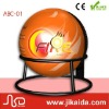 Portable safety & automatic fire extinguisher shaped ball equipment