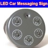 Cool Drive Motion Wireless Led Light Funny Face Car Message Sign