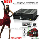 4 Channels Dual SD Card Vehicles Mobile Digital Video Recorder DVR