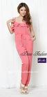 Korean Sweet Pink Casual Pants