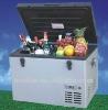 DC 35L 12V/24V/110V car freezer,DC solar refrigerator,DC compressor train freezer
