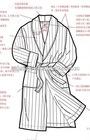 solid cozy fleece shawl robe