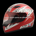 red new model moto bicycle helmet full face