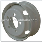 steel tubeless wheel