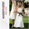 MF1115 Bowknot Spaghetti Strap Sash Sleeveless Pageant Dresses For Little Girls