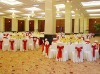 100% polyester banquet chair cover