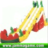 2012 the most attractive Inflatable Castle, inflatable house with big slade for children