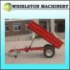 Whirlston car carrying trailer
