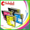 High Capacity! LC985BK, LC985C, LC985M, LC985Y Refillable Inkjet Cartridge
