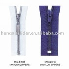 No.5 Open end zipper and close end zipper