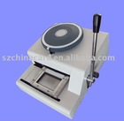 manual PVC card embossing press machine
