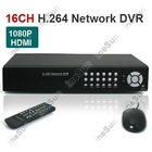 Surveillance 16CH CCTV H.264 Real-time Recording 1080P HDMI Port Standalone CCTV Network DVR