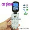 Car shape style unlocked W8 Flip Cellphone