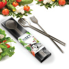 STAINLESS STEEL SALAD SERVER Salad fork spoon Salad set plastic