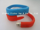 Silicone USB Bracelet,USB wristband,USB band,USB flash drive