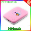 Hot selling!!!Ortable charger 2000mah for phone