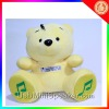 Plush speakers bear box speakersilvertip