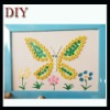 DIY buttons of butterfly craft buttons pack